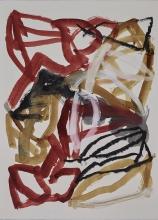 rugaïl - peintures sur papier - Michel Maurice - peintre