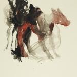 Michel Maurice - Peintre - Chien dans le paysage suite 2